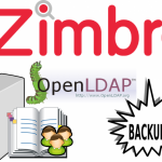 Backup/Restore Zimbra LDAP for DR