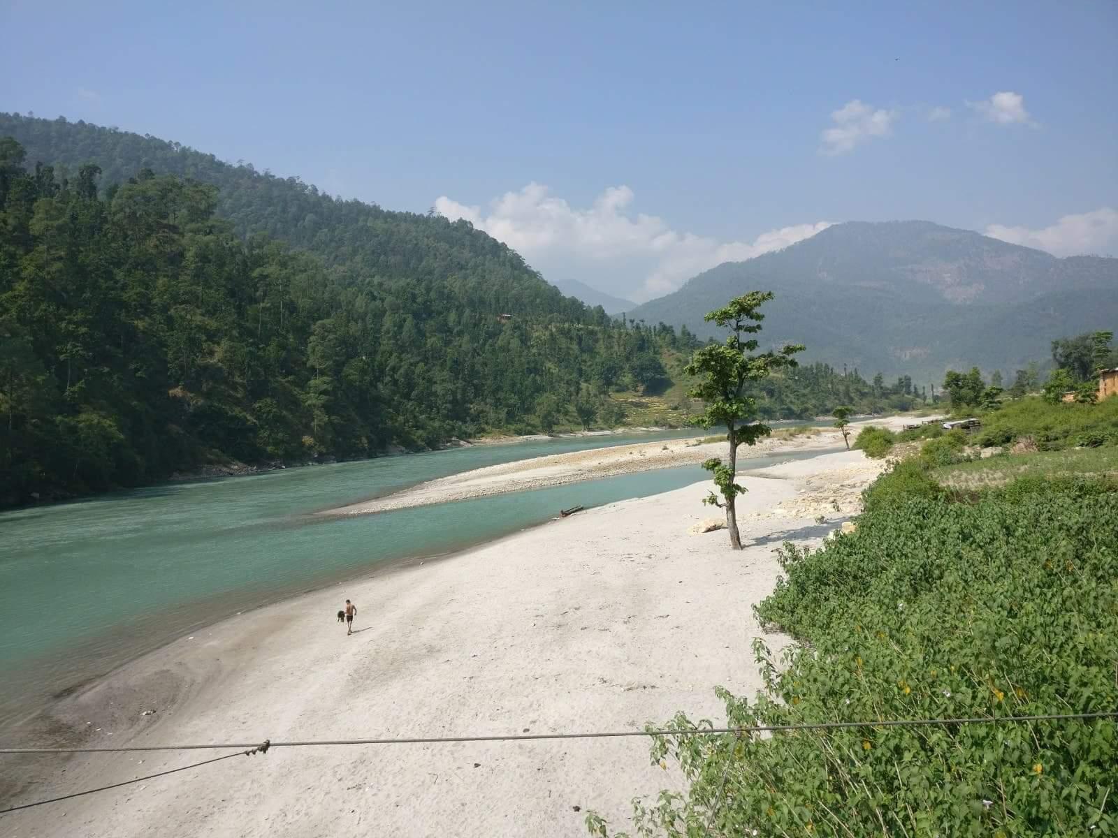 Karnali River at Dailekh
